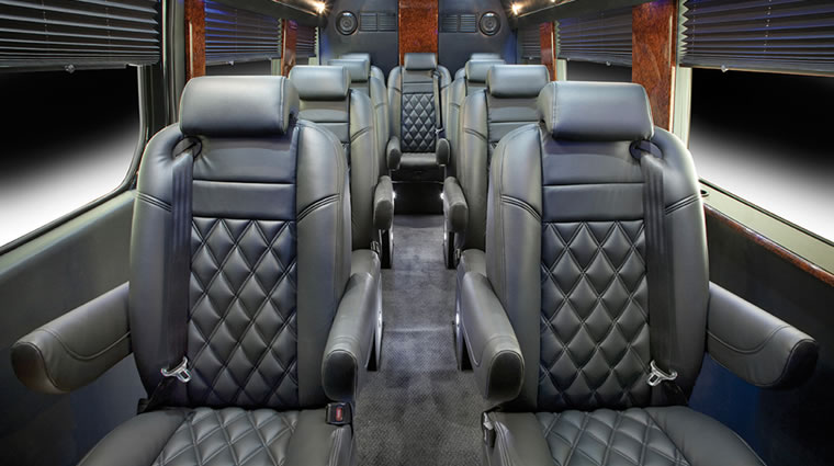 Mercedes Executive Sprinter, 7-14 passengers